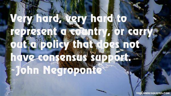 John Negroponte Quotes