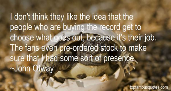 John Otway Quotes