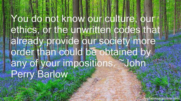 John Perry Barlow Quotes