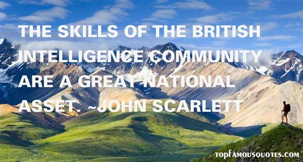 John Scarlett Quotes