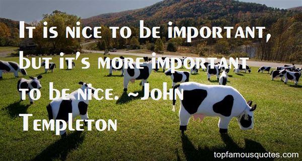 John Templeton Quotes