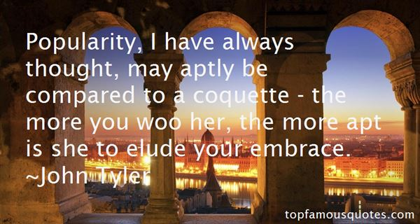 John Tyler Quotes