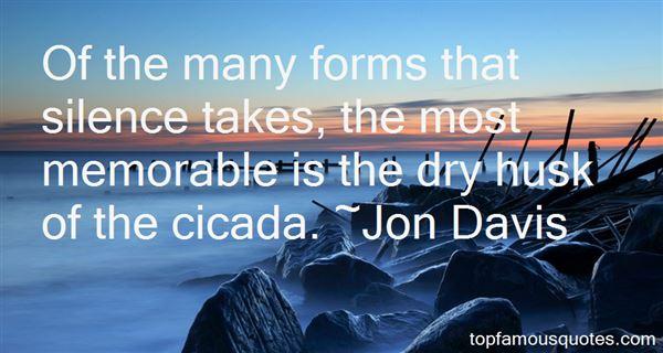 Jon Davis Quotes