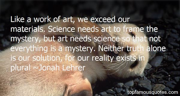 Jonah Lehrer Quotes