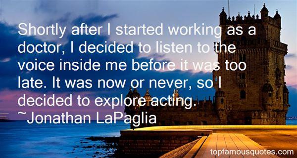 Jonathan LaPaglia Quotes