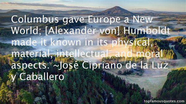José Cipriano De La Luz Y Caballero Quotes