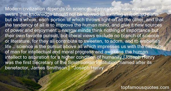 Joseph Henry Quotes