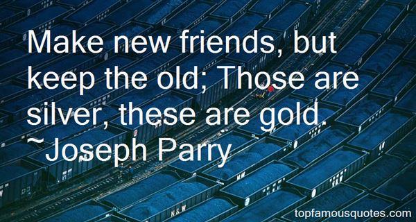 Joseph Parry Quotes