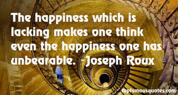 Joseph Roux Quotes