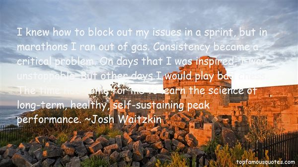 Josh Waitzkin Quotes