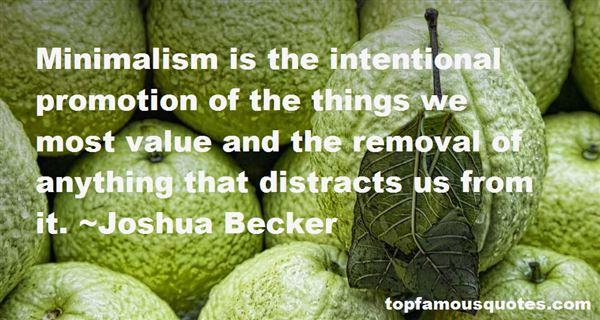 Joshua Becker Quotes