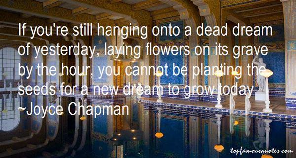 Joyce Chapman Quotes