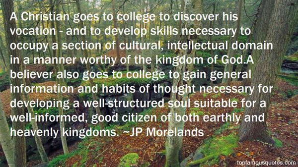 JP Morelands Quotes