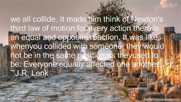 J.R. Lenk Quotes