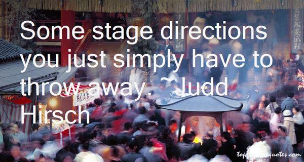 Judd Hirsch Quotes