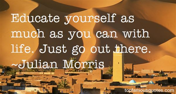 Julian Morris Quotes