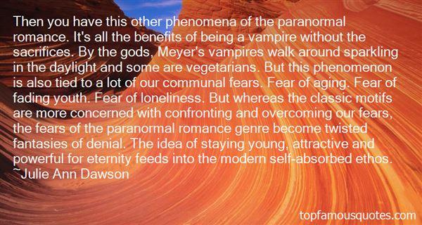 Julie Ann Dawson Quotes