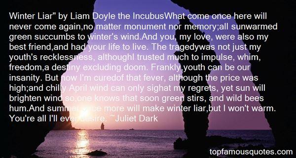 Juliet Dark Quotes