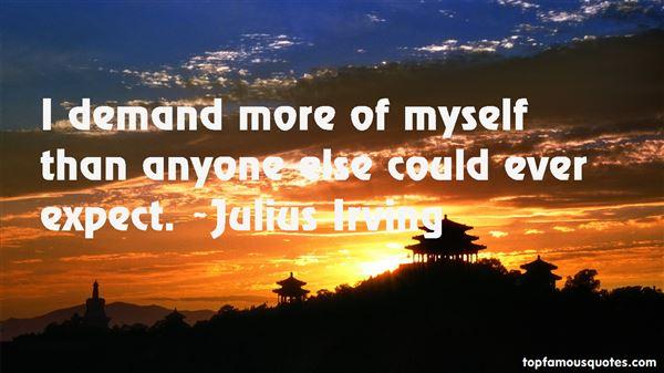 Julius Irving Quotes
