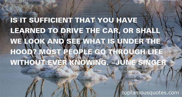 June Singer Quotes