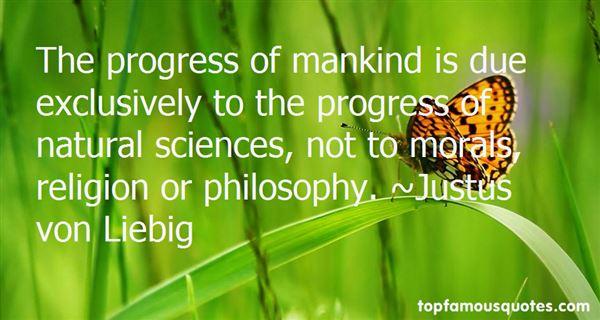 Justus Von Liebig Quotes