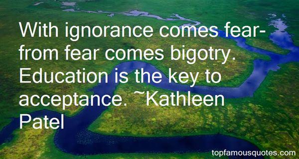 Kathleen Patel Quotes