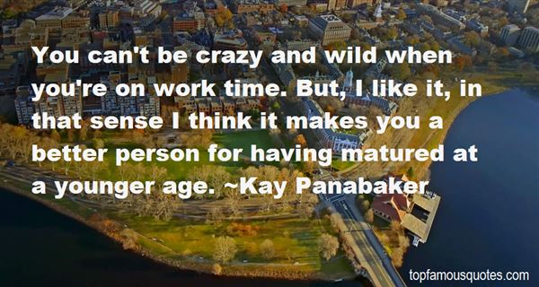 Kay Panabaker Quotes