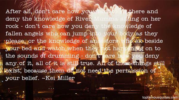 Kei Miller Quotes