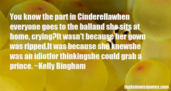Kelly Bingham Quotes