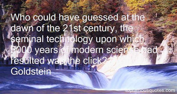 Ken Goldstein Quotes