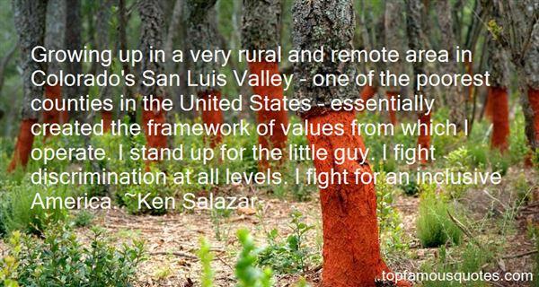 Ken Salazar Quotes