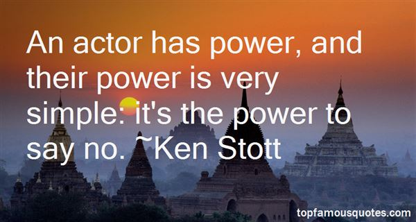 Ken Stott Quotes