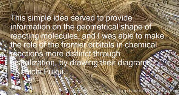 Kenichi Fukui Quotes