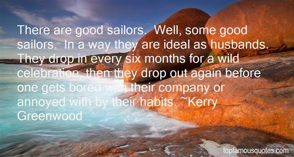 Kerry Greenwood Quotes