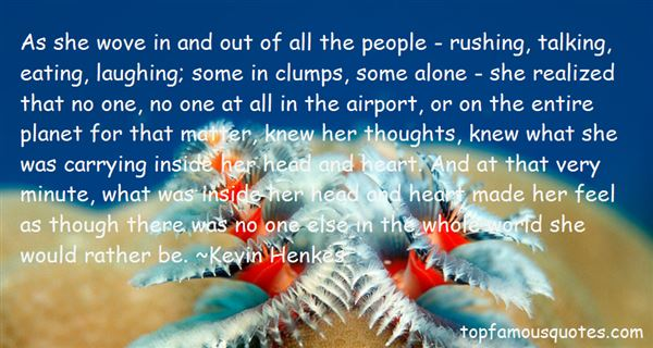 Kevin Henkes Quotes