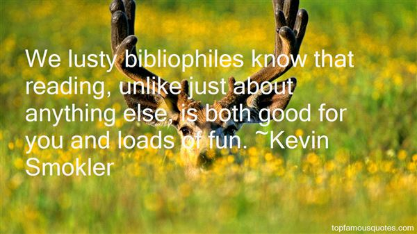 Kevin Smokler Quotes