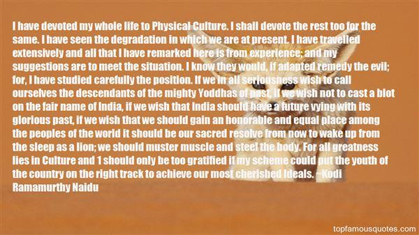 Kodi Ramamurthy Naidu Quotes