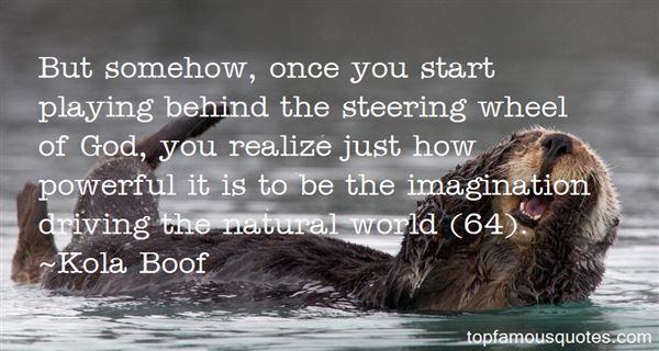 Kola Boof Quotes