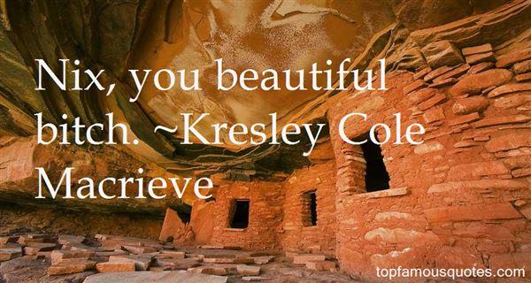 Kresley Cole Macrieve Quotes