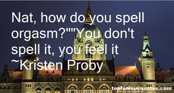 Kristen Proby Quotes