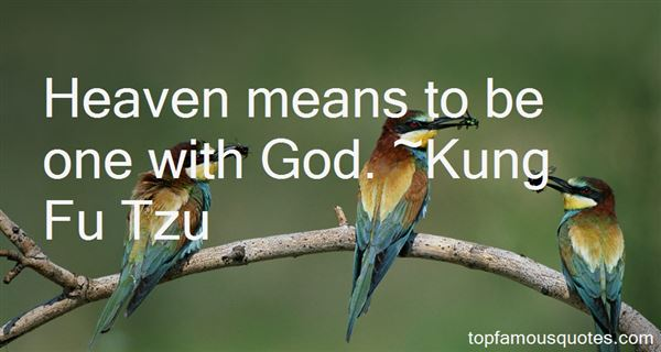 Kung Fu Tzu Quotes