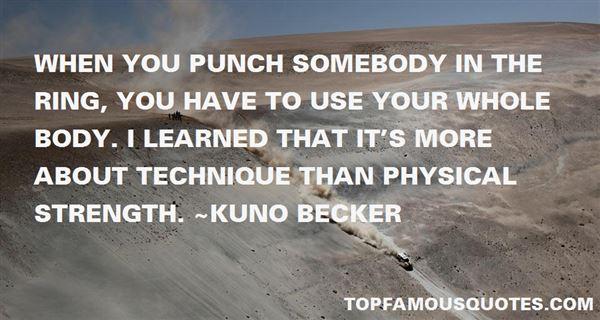 Kuno Becker Quotes