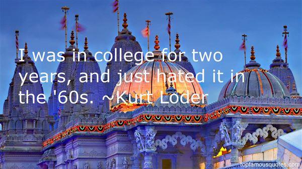 Kurt Loder Quotes