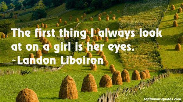Landon Liboiron Quotes
