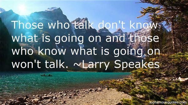 Larry Speakes Quotes