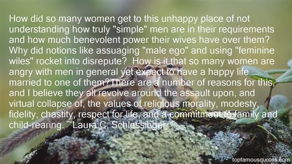 Laura C. Schlessinger Quotes