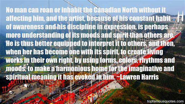 Lawren Harris Quotes