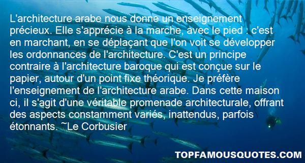 Le Corbusier Quotes