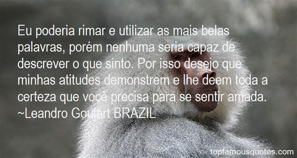 Leandro Goulart BRAZIL Quotes