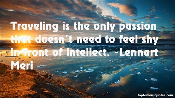 Lennart Meri Quotes